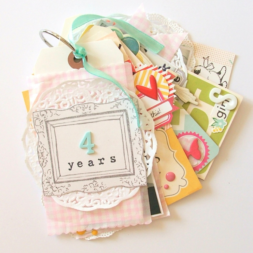 #scrapbook #scrap #minialbum #tags