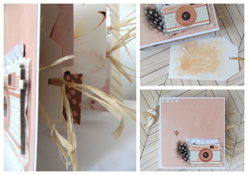 #scrap #scrapbook #tag #minialbum