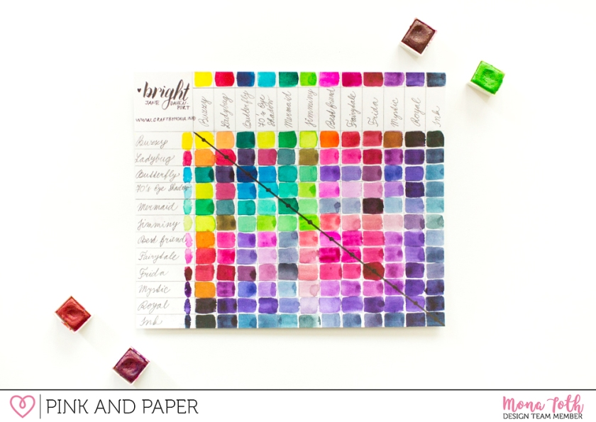 watercolor basics with jane davenport paint set pink and paper shop